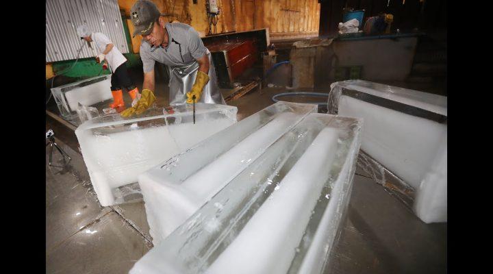 [VR현장] 얼음공장 얼음, 소금으로 얼린다?